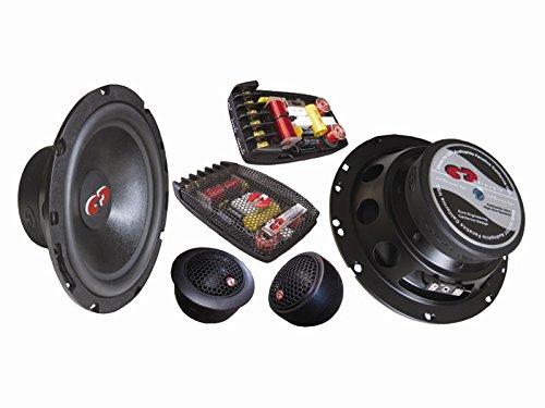 "CL-61BE.2 (Bass Enhanced) CDT Audio 6.5"" 2-Way Component Speaker Set 2-Ohm Version"