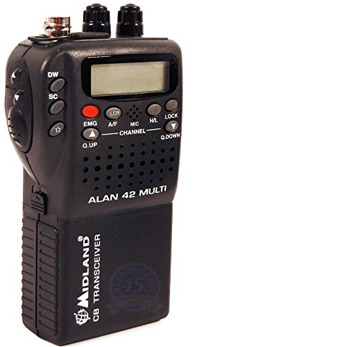 MIDLAND ALAN 42 MULTI HANDHELD CB TRANSCEIVER RADIO WITH ALL ACCESSORIES ! by Midland