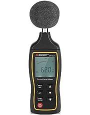 騒音計 騒音測定器 ノイズ測定器 プラスチック材料製 頑丈 大画面ディスプレイ 高精細とバックライトの性能 高感度 測定範囲は±1.5dB 精度で30〜130dB 使い簡単