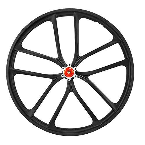 Cuasting Llanta de rueda de freno de disco de bicicleta de montaña 20 pulgadas de aleación de bicicleta integrada llantas -Delanteras