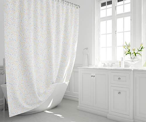 Tenda da Doccia Impermeabile, Resistente alle Muffe, Facile da Pulire, Tenda da doccia Stampata Digitalmente, Lavabile, Dimensioni 140 x 200, 1 Pezzo - Prodotto e Progettato in Turchia