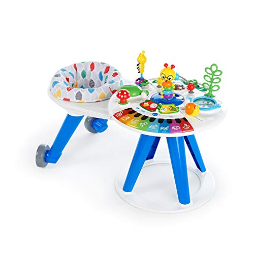 Baby Einstein Around We Grow 4-in-1 Walk Around Discovery Activity Center Table, Ages 6 Months Plus