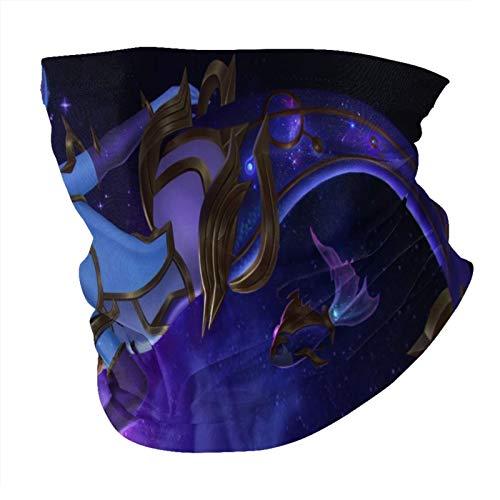 L O L Piscis Nami sin costuras Multifuncional Headwear Variedad Bufanda de la Cabeza Diseño Personalizado Capucha Deportes al aire libre Diadema