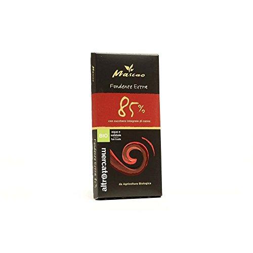 Cioccolato Fondente Extra 85% Mascao 100 G Altromercato