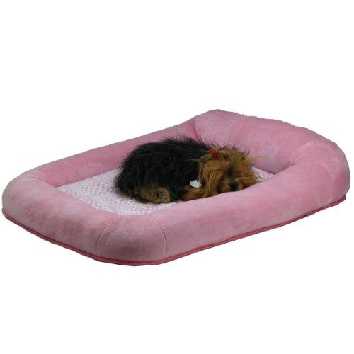 Teafco Otto Bett aus Memory-Schaum mit Wärmeentlastung, Pink, klein