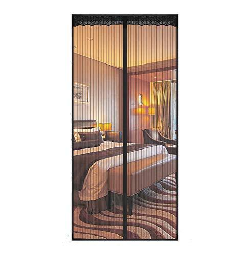 Moustiquaire magnétique pour fenêtres et portes Noir 140 x 240cm