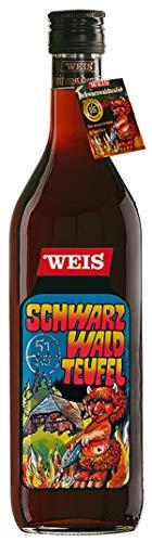 Schwarzwaldteufel | Kräuterlikör aus der Elztalbrennerei Weis | 1l. Flasche