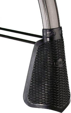 BIBIA Schmutzfänger, schwarz, mit einvulkanisiertem Blechstreifen (7 mm breit), zum Umbiegen