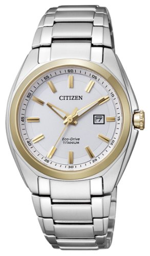 Citizen Damen-Armbanduhr Supertitanio Eco Drive EW2214-52A