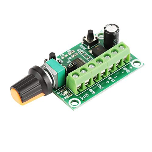 ICQUANZX Controlador de velocidad del motor de CC (PWM) 3650 3525 2418 2480 Interruptor de controlador ajustable Adecuado para algunos motores trifásicos ventilador sin escobillas, etc.