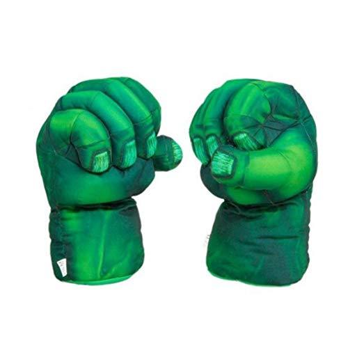 Party-superheld-kostüm Hulk Spiderman Hände Handschuhe Boxhandschuhe Für Kinder Kinder Lustige Spielwaren Handschuh 2pcs / Pair