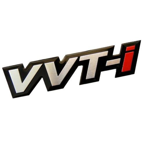 VVT-I Variable Valve Timing with intelligence Real Aluminum Engine Hood Emblem Badge Nameplate JDM