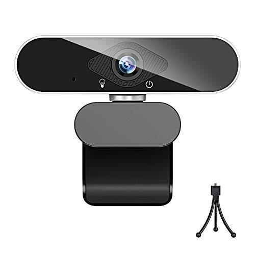 ウェブカメラ フルHD 1080P 高画質 200万画素 webカメラ マイク付き usb ノイズ対策 ストリーミング オートフォーカス pcカメラ 外付け 広角 usbカメラ 小型 自動光補正 挿すだけ使える 在宅勤務 リモートワーク 動画配信 ビデオ会議 オンライン授業 WindowsXP/7/8/10 AndroidTV skype Youtube zoom対応 …