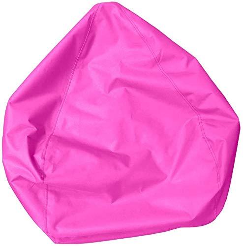 Sofa Sack Soft zitzak Cover Case Livingroom Chair Kids Knuffels Doll Organizer Bag - Roze, Kleur: Hot Pink (Color : Hot Pink)