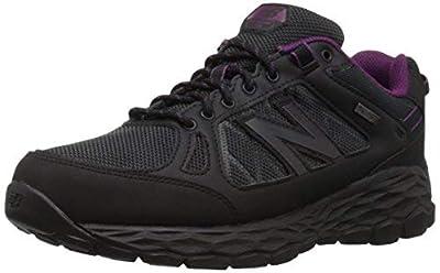New Balance Women's Fresh Foam 1350 V1 Walking Shoe, Black/Silver, 6.5 M US