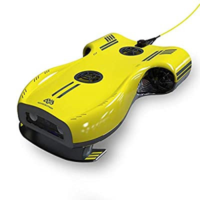 Nemo 4K Underwater Camera Drone System, Aqua Pro Sea Photography, WiFi Recorder for Fishing, Scuba Diving with Travel Backpack