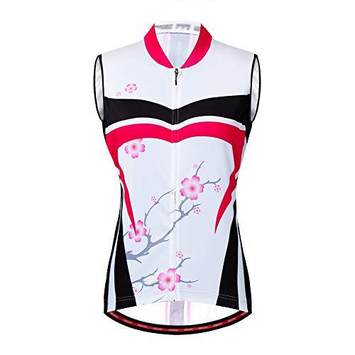 Jersey de Ciclismo Camisetas de ciclismo con estampado de flores de las...