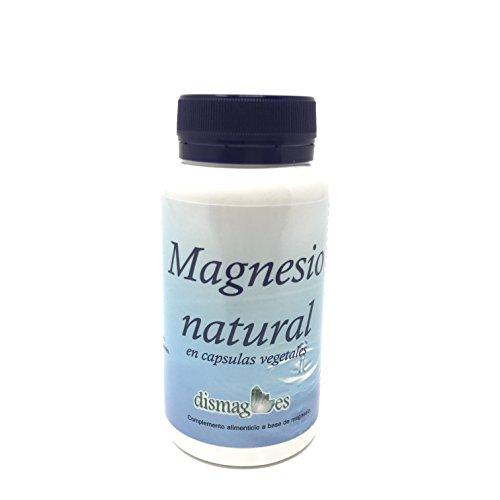 Magnesio natural en capsulas vegetales (producto vegano) Complemento alimenticio a base de minerales en cápsula vegetal