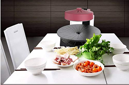 41l5jhjZU9L - WJJJ New BBQ Poke Hot Pot Non-Stick All Powerful Stovetop Grill Maschine Smoke-Free Baking Electric Multifunctional Pan Multi Purpose Pot Korean Style Black Kitchen Pot
