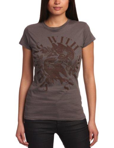 Plastic hoofd slapen met sirenes voor de vogels GTS vrouwen T-Shirt