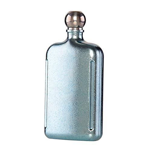 XCCV Petaca de titanio puro, frasco de whisky de alcohol de