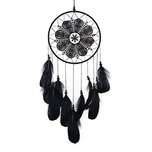NLYWB Dreamcatcher, Woven by Traditional Manual Techniques, Natural Feather, Unique Design, Suitable for Study Room, Bedroom, Etc, 6.3x23.6 Inch