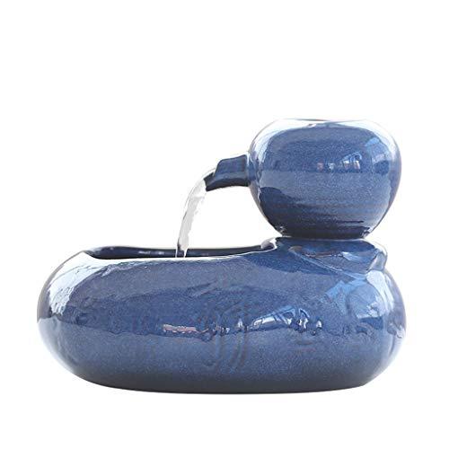 CWYSJ Cat Water Fountain, Ultra-Silent Pump Pet Water Fountain, Dog Cat Water Dispenser Bowl,Ceramic Drinker