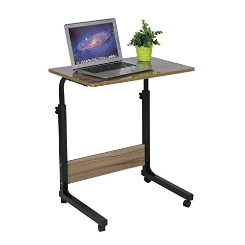 Laptop Table for Sofa/Bed, Laptop Desk, Standing Height Adjustable Computer Desk, Portable Side Table, Bed Table, Sofa Table