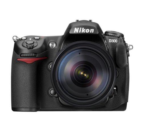 Nikon D300 DX DSLR Camera with 18-200mm f/3.5-5.6G ED-IF AF-S Nikkor Zoom Lens (OLD MODEL)