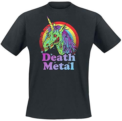 Death Metal Männer T-Shirt schwarz L