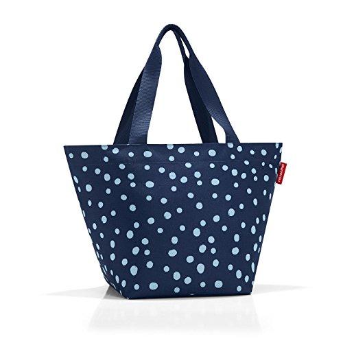 reisenthel shopper Bolsa de cuerdas para el gimnasio, 51 cm, 15 liters, Azul (Spots Navy)