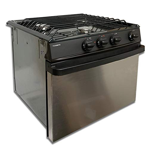 Atwood   DOMETIC Stove Range RV-1735 BS Black/Stainless Part# 52843 Motor Homes Campers RVS
