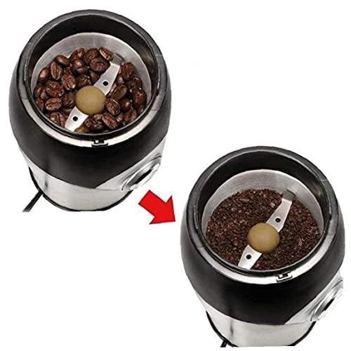 Elettrico Coffee Bean Mill Grinder in Acciaio Inox Polvere Macchina per Frantumazione Frantumazione Fresco Spezie Erbe Dadi Grani