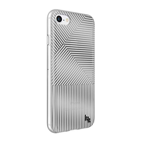 KENDALL + KYLIE Protective Printed Case for iPhone 8/7/6S/6 SILVER