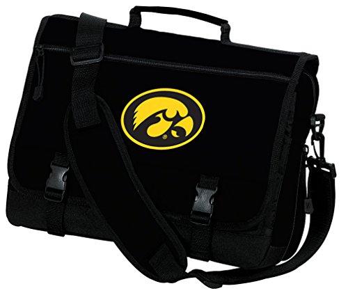 Broad Bay University of Iowa Laptop Bag Iowa Hawkeyes Computer Bag or Messenger Bag