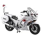 スカイネット 1/12 完成品バイク YAMAHA FJR1300P 白バイ 警視庁