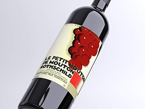 X18 Le Petit Mouton de Mouton Rothschild 2014 Rouge 75 cl AOC Pauillac Segundo Vino Vino Tinto