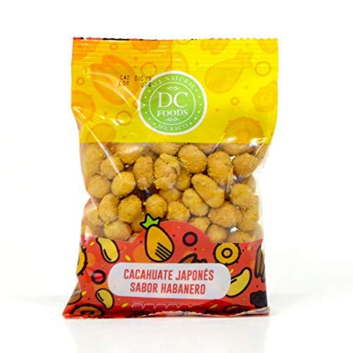 Cacahuate Japonés sabor Habanero DC Foods 3 bolsas de 150 gramos cada una