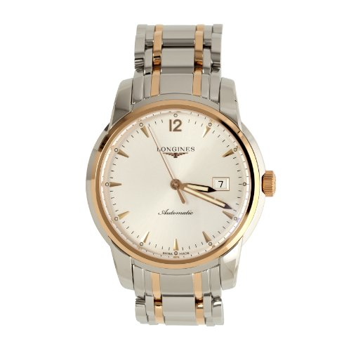 Longines–XL Saint Imier–Reloj de Pulsera analógico automático para Hombre Acero Inoxidable L2.766.5.72.7