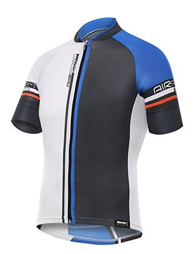 SantiniAirform –Maillot de Ciclismo para Hombre Airform 2.0Maillot de Manga Corta, Hombre,...