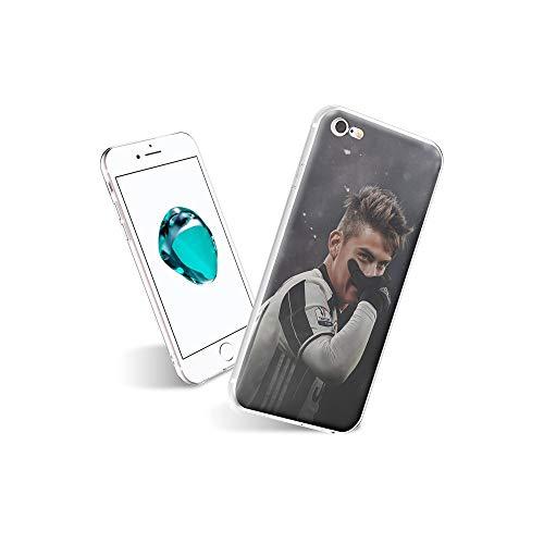 VSoUGMESa #005C iPhone 7 Funda, iPhone 8 Funda, elgado Suave TPU Silicona Flexible [Parachoques de absorción de Choque] Funda para el iPhone 7 / iPhone 8 VSGW#005
