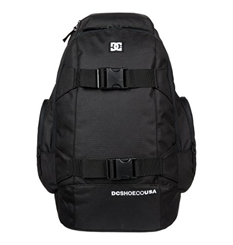 DC Shoes Herren Backpack Wolfbred II M BKPK KVJ0, Black, 48 x 31 x 19 cm, 28 Liter, EDYBP03026-KVJ0