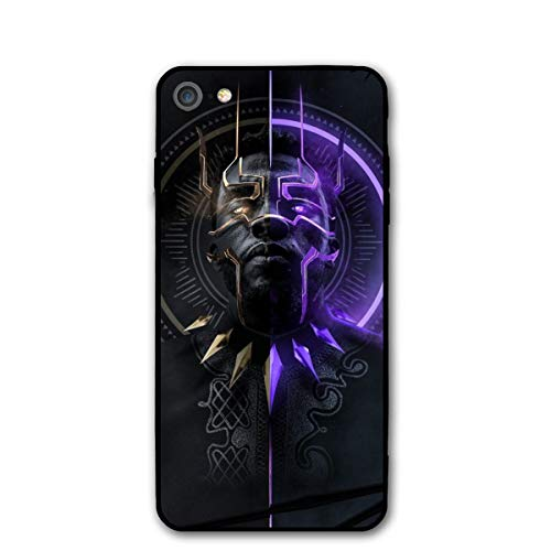 iPhone 7 Case 8 Case 4.7',Comics Case Cover for iPhone 7/8(Black-Panther)