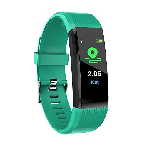Buy DSWDA Intelligent Bracelet Color Screen Smart Bracelet Heart Rate Blood Pressure Sleep Monitorin...