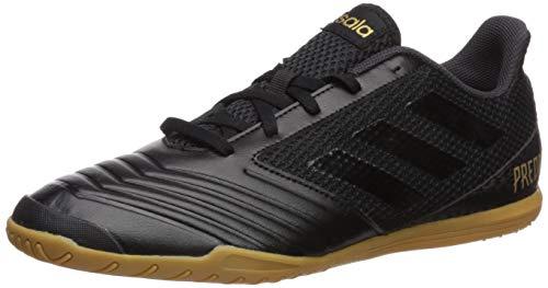 adidas Men's Predator 19.4 in SALA Soccer Shoe, Black/Black/Utility Black, 10 M US
