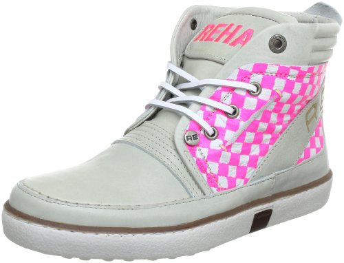 Rehab Damen Troyan Women Fluor Stiefel & Stiefeletten, Pink (Off White Fuxia), 39 EU