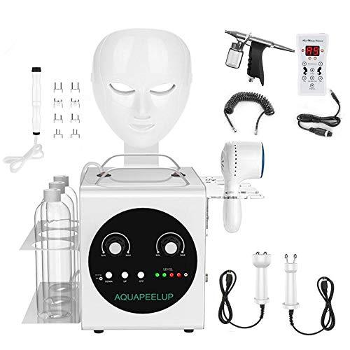 6-in-1 waterzuurstof-vochtinbrengende sprayer, ultra-microbellenmassage, gezichtsverzorging, spray airbrush SPA vochtverzorgende verjonging EU-stekker.