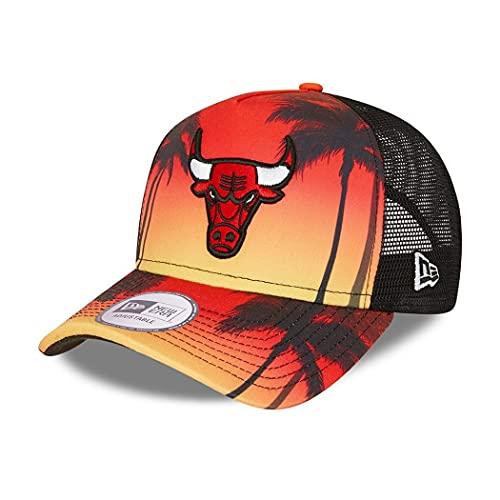 New Era Chicago Bulls NBA Cap Trucker Cap verstellbar...