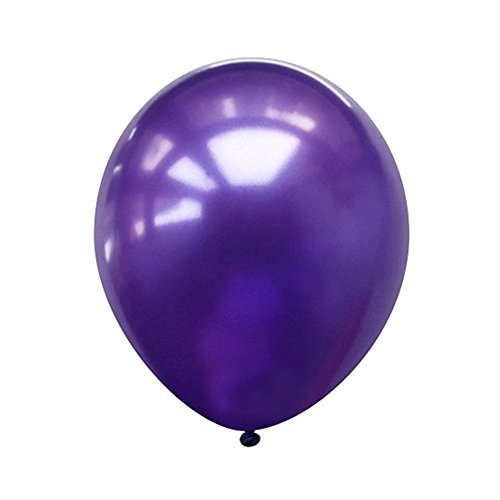 Neo LOONS® 5' Pearl Purple Premium Latex Balloons - Great for Kids, Adult Birthdays, Weddings, Receptions, Baby Showers, Water Fights, or Any Celebration, Pack of 100