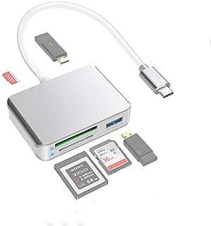 comprar comparacion Eletrand Tipo C a Lector de Tarjetas XQD Lector Tarjetas de Memoria SD/Micro SD USB 3.0 XQD Card Reader Adaptador Empareja...